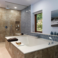 Modern Bathroom by k YODER design, LLC