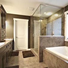 Contemporary Bathroom by Rococo Homes Inc