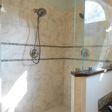 Traditional Bathroom by Nancy Young Designs