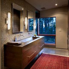 Contemporary Bathroom by Denman Construction