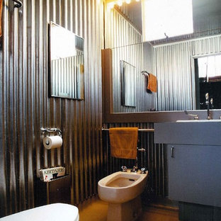 Example Of An Urban Bathroom Design In San Francisco With A Bidet