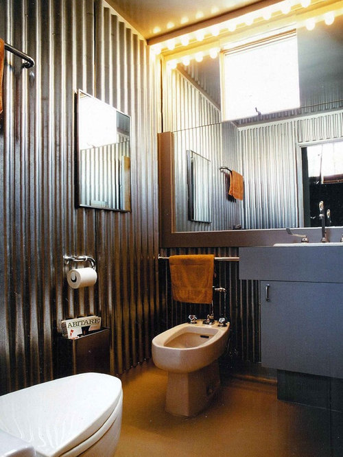 Example of an urban bathroom design in San Francisco with a bidetGuest Bathroom   Houzz. Guest Bathroom. Home Design Ideas