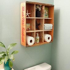 Traditional Bathroom by Brittany (aka Pretty Handy Girl)