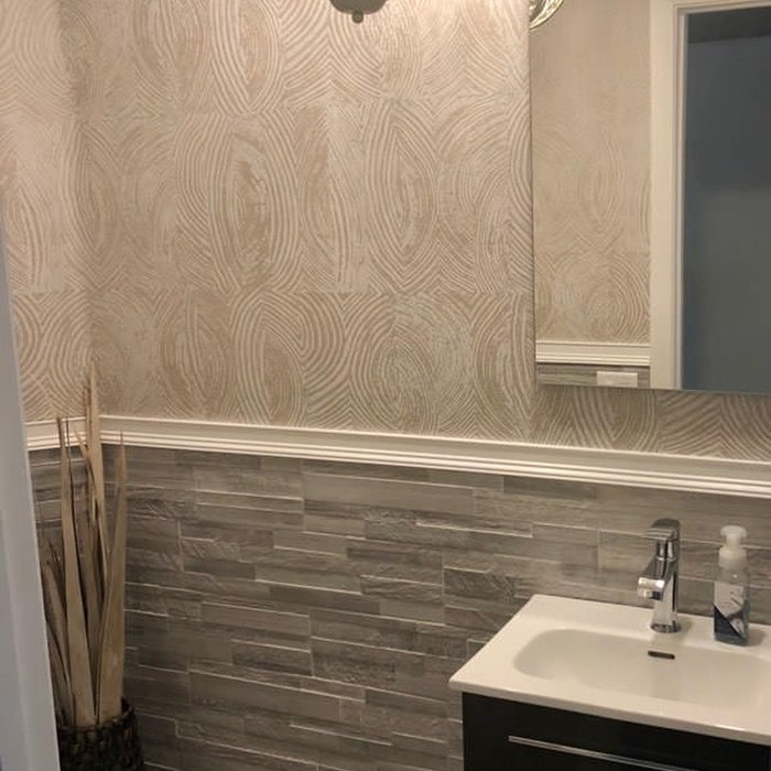 Half Bathroom Renovation in West Broward