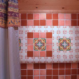 Idee per una stanza da bagno stile rurale