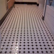 Traditional Bathroom by Halifax Tile Company