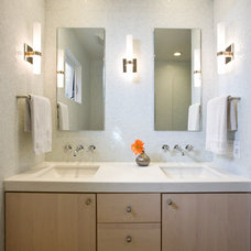 Contemporary Bathroom by Norwell Design Build
