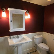 Craftsman Bathroom by Nunley Custom Homes