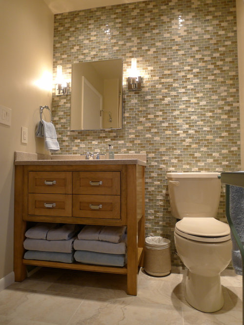 beige toilet houzz. Black Bedroom Furniture Sets. Home Design Ideas