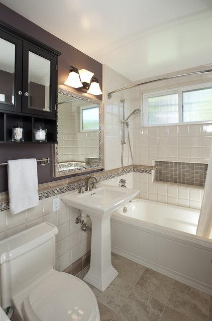 Traditional Bathroom by CAGE Design Build