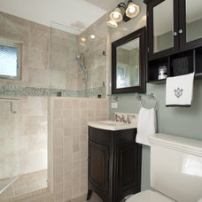 Traditional Bathroom by CAGE Design Build