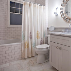 Traditional Bathroom by Nathan Cuttle Design