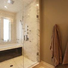 Modern Bathroom by Hall Developments