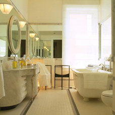 Eclectic Bathroom by Jerry Jacobs Design, Inc.