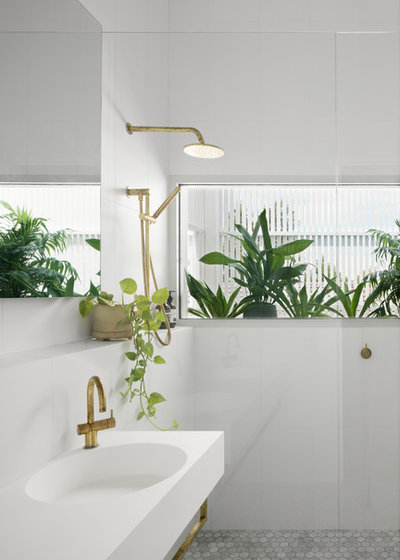 Contemporary Badrum by Fido Projects