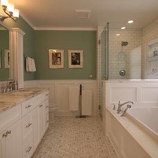 Traditional Bathroom by Birdsmouth Construction, LLC