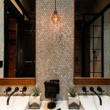 Contemporary Bathroom by Beyond Beige Interior Design Inc.