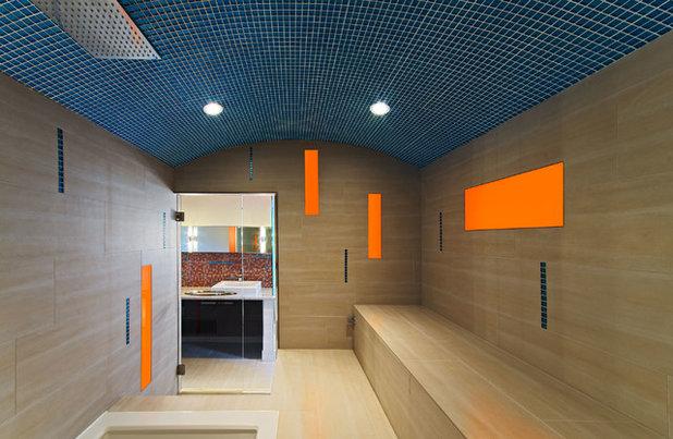 Contemporary Bathroom by Kariouk Associates