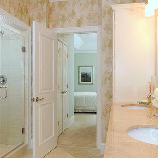 Elegant bathroom photo in Providence