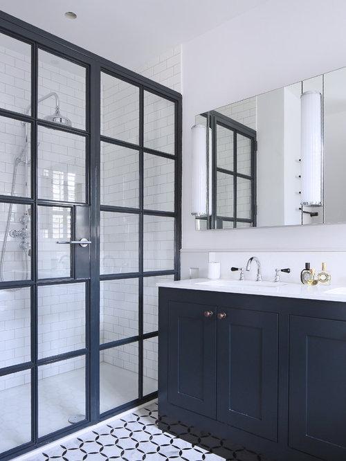 Coole Schrankfronten Wardrobe: Badezimmer Mit Linoleum Ideen, Design & Bilder