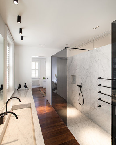 Contemporary Bathroom by MWAI Architecture and Interiors