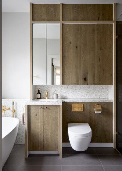 Scandinavian Bathroom by Indie & Co.