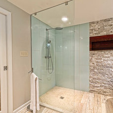 Midcentury Bathroom by Pittsburgh Remodeling Company