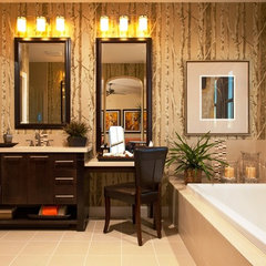 modern bathroom by Citrine Interior Design