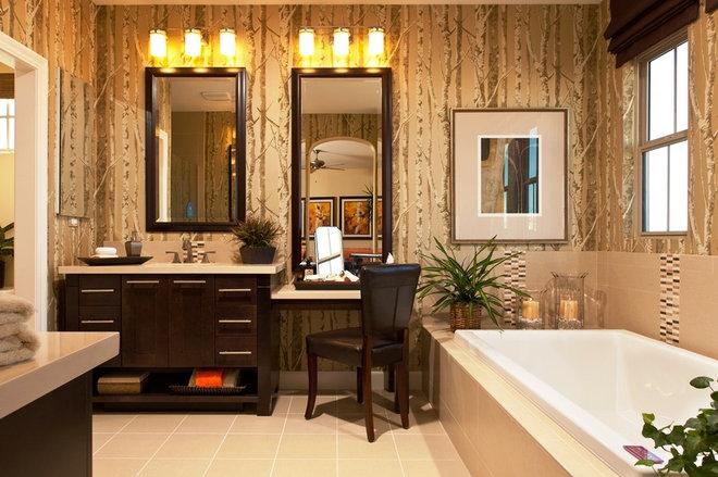 Modern Bathroom by Studio V Interior Design