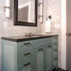 Modern Bathroom by MJ Lanphier