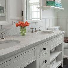 Beach Style Bathroom by John Hummel & Associates Custom Builders