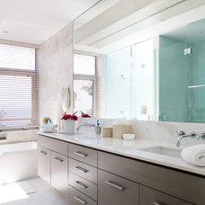 Contemporary Bathroom by Betty Wasserman