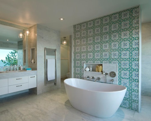 Shower Behind Wall Ideas Pictures Remodel And Decor