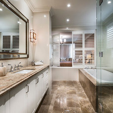Traditional Bathroom by D-Max Photography