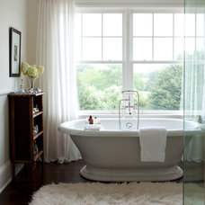 Transitional Bathroom by ALICE BLACK INTERIORS