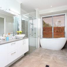 Contemporary Bathroom by Latitude 28 Constructions