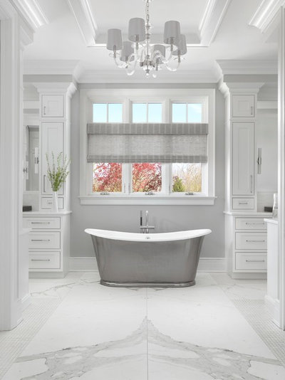 Traditional Bathroom by Mitchell Wall Architecture and Design