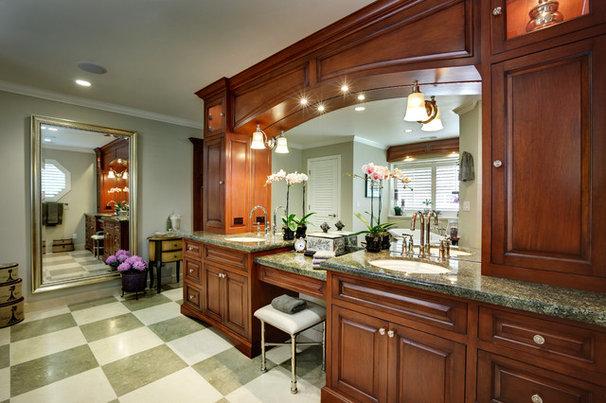 Traditional Bathroom by Almaden Interiors, Inc.