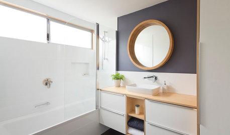 17 astuces peinture pour donner du caractère à la salle de bains
