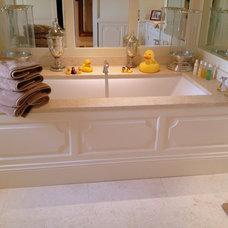 Traditional Bathroom by Heaven & Stubbs Bespoke Furniture Ltd