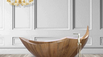 Handcrafted Bathtub made of Burmese Teak