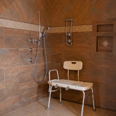 Traditional Bathroom by j. ellen Design, LLC