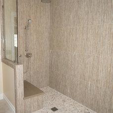 Contemporary Bathroom by Borden Interiors & Associates