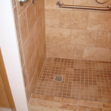 Traditional Bathroom by Halo Construction Services LLC