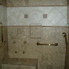 Traditional Bathroom by Dave's Custom Tile