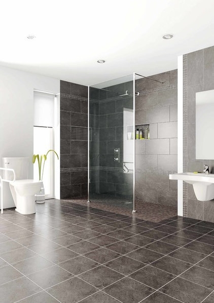 Modern Bathroom by Innovate Building Solutions