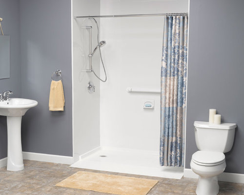 Handicapped Accessible Shower Home Design Ideas, Pictures, Remodel and Decor