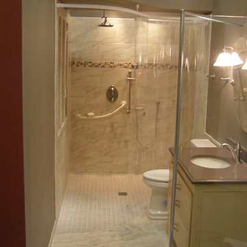 Handicapped-Accessible and Universal Design Showers