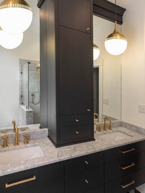 Eclectic richmond bathroom design ideas remodels photos for Bathroom design richmond