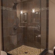 Contemporary Bathroom by Allen Interiors & Design Center Inc